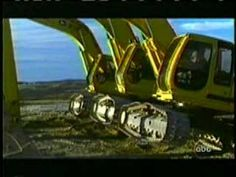 """Dancing excavators on a construction site. From the Anne Troake's """"Pretty Big Dig."""" I love this!"""