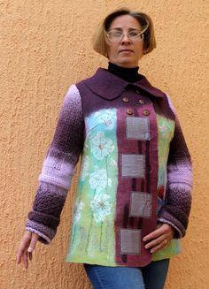 Felted Jackets by Irina Lyubina
