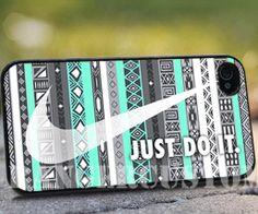 Nike aztec mint 2   iPhone 4/4s/5/5s/5c Case  by rangercustommumet, $15.00