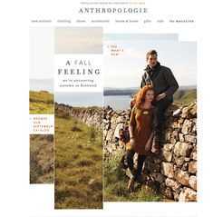 Email design (Anthropologie)