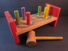 playskool cobblers bench w/hammer