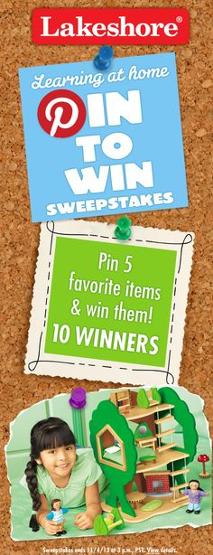 Learn how to enter sweepstakes