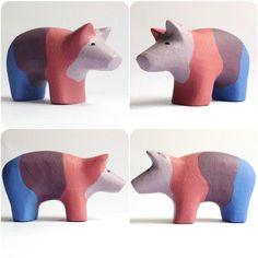 b for Bjørn: Color Pig