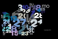 CALENDARS! Calendar by Sudhir Kuduchkar »  Retail Design Blog