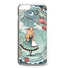 Alice and Cheshire Cat Poster iPhone 6 Plus Case