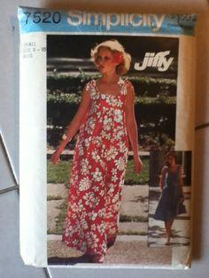 Simplicity Vintage Dress Pattern 7520