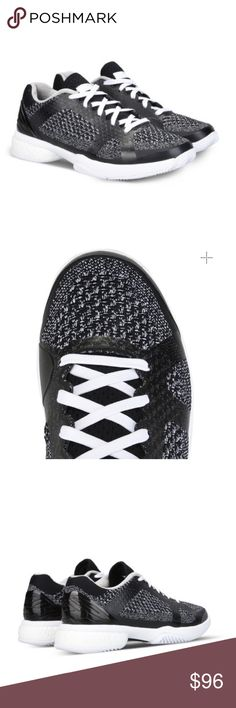 Tweed Tennis Shoes These super cute Baricade boost from Adidas by Stella McCartney in a tweed inspired style. Fits a size 6. Brand new, never worn. Adidas by Stella McCartney Shoes Athletic Shoes