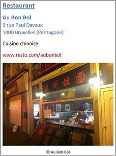 Restaurant Au Bon Bol - 9 rue Paul Devaux - Pentagone