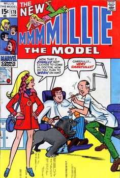 Archie Comic Books, Old Comic Books, Archie Comics, Comic Book Characters, Old Comics, Vintage Comics, Marvel Comics, Millie The Model, Josie And The Pussycats