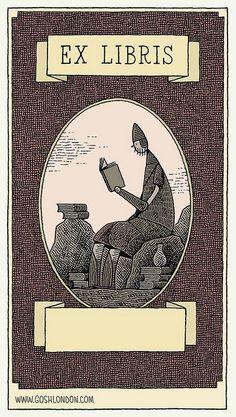 "Tom Gauld ""Goliath Bookplate"""