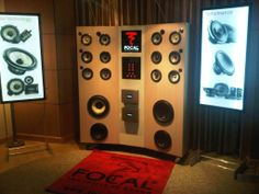 Focal CES 2014 Speaker display.