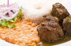 Traditional Frejoles con Seco de Res | Peruvian Food..., ,