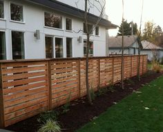 Wood Fences in Seattle - Cedar Fence Contractor - Economy Fence