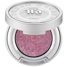 Urban Decay Glitter     Rock Moondust Eyeshadow ($21) ❤ liked on Polyvore featuring beauty products, makeup, eye makeup, eyeshadow, glitter rock, cream eyeshadow, sparkle eyeshadow, glitter eyeshadow, iridescent eyeshadow and creme eyeshadow
