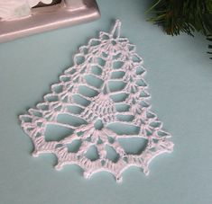 Best 12 Christmas Angel Tree decoration Baptism gift Wedding gift Religious gift lace Angel ornament home de – SkillOfKing. Crochet Applique Patterns Free, Crochet Snowflake Pattern, Christmas Crochet Patterns, Holiday Crochet, Crochet Snowflakes, Christmas Knitting, Crochet Mat, Crochet Angels, Crochet Crafts