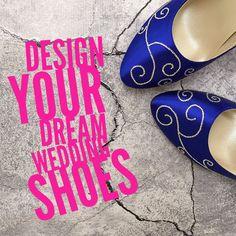 CUSTOM CONSULTATION: Wedding Shoes Design Your Own Wedding