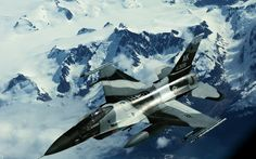 Avions Avion de chasse F-16  Aviation