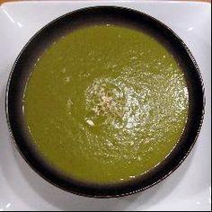 Soupe poireau, aubergine et curry