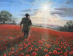 Shop for poppies art from the world's greatest living artists. All poppies artwork ships within 48 hours and includes a money-back guarantee. Choose your favorite poppies designs and purchase them as wall art, home decor, phone cases, tote bags, and more! Remembrance Day Art, Ww1 Art, The Great, Poppies Tattoo, Flanders Field, Lest We Forget, Thing 1, World War One, Fine Art America