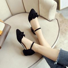 Women Ankle Straps Flower Low Heels Sandals Shoes Heel Height: 3 cm Platform Height: – cm Size Note: We send CN size, if your foot is a little wide and fat, we suggest you choose 1 size larger. Size Guide: Euro/CN 34 = US 3 = (Foot Euro/CN 35 = US 4 … Low Heel Sandals, Low Heel Shoes, Ankle Strap Heels, Ankle Straps, Low Heels, Cute Shoes Flats, Golf Shoes, Buy Shoes, Strappy Sandals