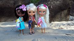 https://flic.kr/p/uxAyU5   Off for a swim...   Merindah by Chantilly Lace, Kai by Jacky Vo and Leonie by ????