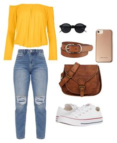 """""""Casual day out"""" by kamryn-123 on Polyvore featuring Venus, Converse, Karen Millen, Uniqlo and plus size clothing"""