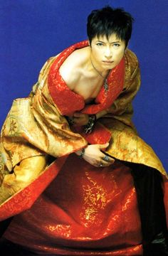 Gahh, I forgot that these pictures of Gackt existed. Can we talk about my shoulder/neck/jawline bone structure fetish for a sec?