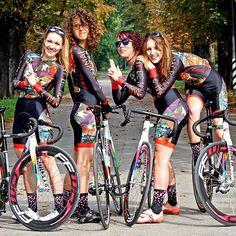 Cycling Chicks — razumichin2: Chromed fixed gear bike via Bike...