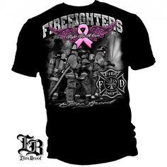 Fight For A Cute Firefighter Tee Shirt