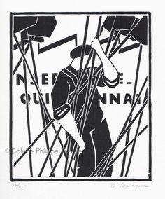 Trois nouvelles estampes d'Olivier Lapicque sont disponibles à la galerie. Elles traitent de la thématique (chère à l'artiste) des caseyeurs... Illustration, Fictional Characters, Triptych, Olive Tree, Prints, Artist, Illustrations, Fantasy Characters