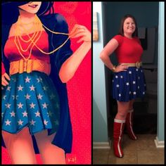 My DIY wonder woman costume and the inspiration for it =)