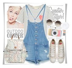 Outdoor Concert by stylemeup007 on Polyvore featuring Chinti and Parker, Zara, Converse, Tory Burch, Linda Farrow and Religion Clothing