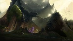 MLP - Out of the Ashes, a New Story To Be Told by Huussii.deviantart.com on @deviantART