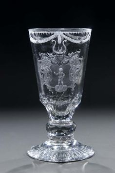 110: Wappenpokal Silesia Glass Goblet Crest Antique Old : Lot 110. Estimate $2200. We buy, sell and collect fine antiques. Visit Renaissance Fine Jewelry and Renaissance Fine Antiques in Vermont. www.vermontjewel.com