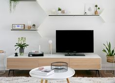 Scandinavian living in Sydney by BoConcept Living Room Storage, Living Room Tv, Home And Living, Living Spaces, Coastal Living, Apartment Living, Muebles Living, Living Room Inspiration, Living Room Designs