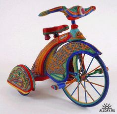 Beaded Tricycle