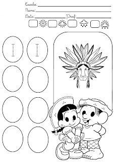Atividade Infantil: Atividades com as vogais
