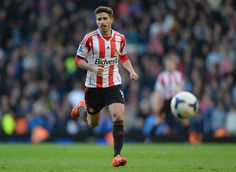 Fabio Borini of Sunderland in action during the Barclays Premier... ニュース写真 485679049