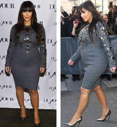 Very cute pregnant mom dress! Kim Kardashian Preg!