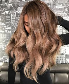 Mocha Latte Hair Color