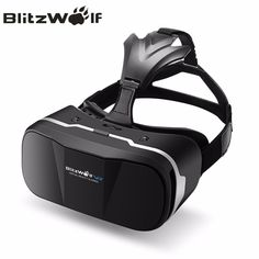a94dc2210780 BlitzWolf Original BW-VR3 3D VR Virtual Reality Glasses Headset HeadMount  For iPhone 7 6 For Samsung 3.5-6.3 inch Smartphone Price  45.04   FREE  Shipping   ...