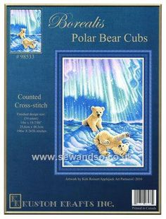 Kustom Kraft - Borealis Polar Bear Cubs Chart Booklet