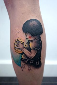 Grave of the fireflies tattoo, by Miss Sucette