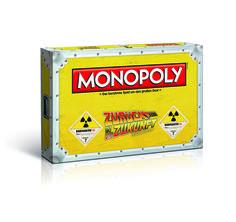 """Monopoly Zurück in die Zukunft Collector's Edition - GROSSER GOTT!!! """"Wenn meine Kalkulationen korrekt sind …"""", können Sie 1.21 Gigawatt Energie nutzen und der Fluxkompensator schickt Sie im """"Zurück in die Zukunft"""" MONOPOLY® auf eine historische Reise. Sammeln Sie die berühmten Orte in Hill Valley aus allen drei Filmen, wie die Rathausuhr von 1885, Docs Villa von 1955 und das Zuhause der McFlys von 2015. Nehmen Sie Ihre Spielfigur und machen Sie eine Zeitreise über LOS!"""