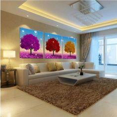 adornos para pared de sala grandes