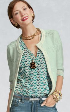 Society Sweater - Sweaters - CAbi Spring 2013 Collection