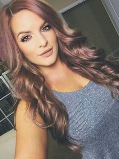 That hair color! Wow!