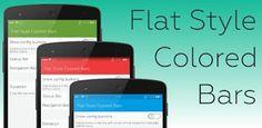 Flat Style Colored Bars Pro v1.1.0.0  Martes 17 de Noviembre 2015.Por: Yomar Gonzalez | AndroidfastApk  Flat Style Colored Bars Pro v1.1.0.0 Requisitos: 4.2 | ROOT | Marco Xposed Descripción: IMPORTANTE  Requiere acceso ROOT  Requiere Marco Xposed  Sólo funciona con 4.3.x y 4.4.x AndroidSI TIENE ALGUN PROBLEMA POR FAVOR NO TASA CON UNA ESTRELLA PERO enviarme correo CON SU PROBLEMA Y CREO QUE PODEMOS RESOLVER TI GRATIS  Cambie los colores de fondo de su Estado y Navegación bares PRO  Cambiar…