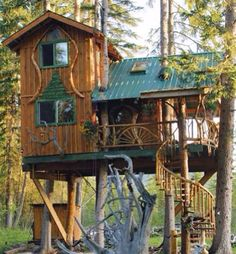 Tree House, Washington photo via houston