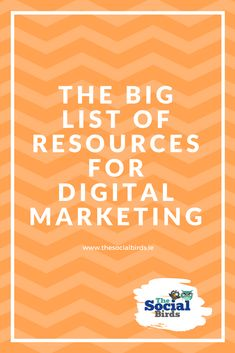 We all need good resources for #marketing right? Check out 60+ #digitalmarketing resources that we've put together to help your #socialmediamarketing efforts starting today!